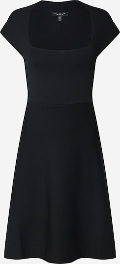 Forever New Kleid 'Morgan Square Neck Knit Dress' in schwarz, Produktansicht