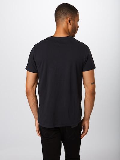 Marškinėliai 'SS SIGN OFF' iš WRANGLER , spalva - juoda: Vaizdas iš galinės pusės