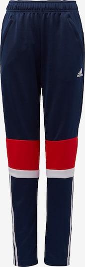 ADIDAS PERFORMANCE Hose in nachtblau / rot / weiß, Produktansicht