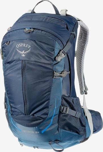 Osprey 'Stratos 24L' Wanderrucksack in blau: Frontalansicht