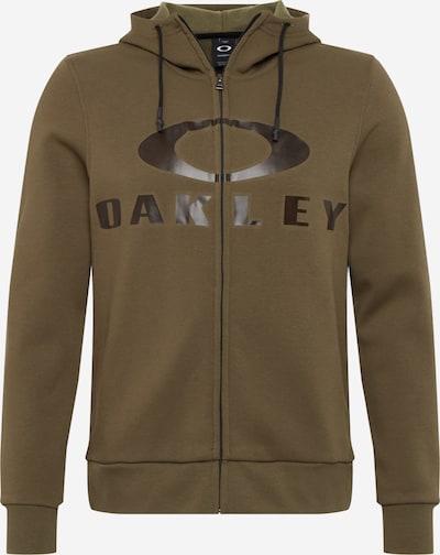 Sportinis džemperis 'BARK FZ HOODIE' iš OAKLEY , spalva - alyvuogių spalva, Prekių apžvalga