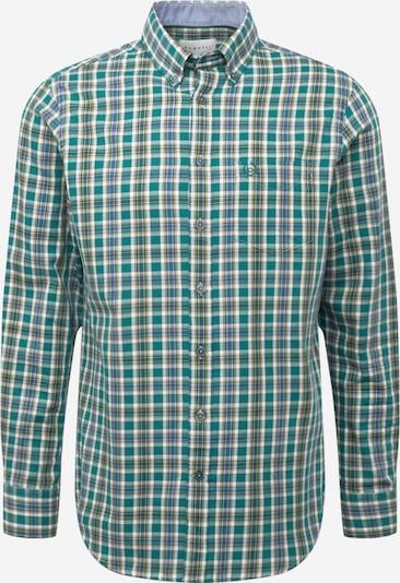 bugatti Hemd in blau / honig / grün, Produktansicht