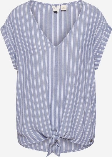 ROXY Shirt 'BORN TO TRY STRIPE' in hellblau, Produktansicht