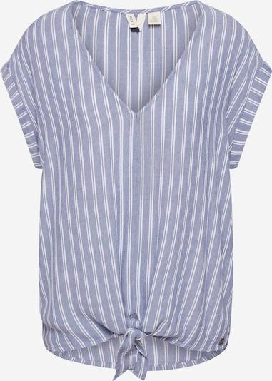ROXY Shirt 'BORN TO TRY STRIPE' in de kleur Lichtblauw, Productweergave