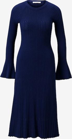 IVY & OAK Midi Kleid gestrickt in blau, Produktansicht