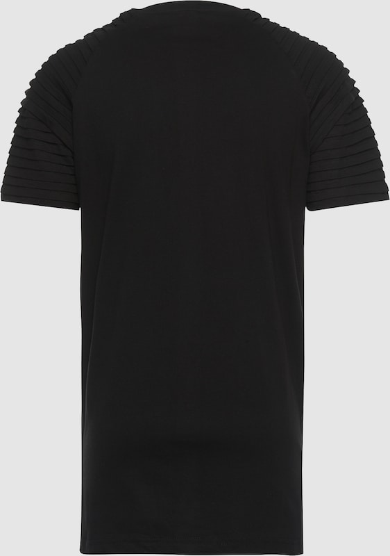 Urban Classics Shirt Pleat Raglan Tee