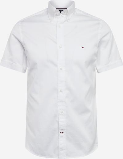 TOMMY HILFIGER Hemd 'SLIM FINE TWILL SHIRT S/S' in weiß, Produktansicht