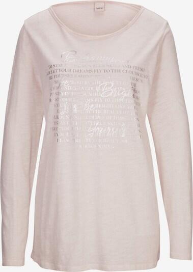 heine Shirt in puder / silber, Produktansicht