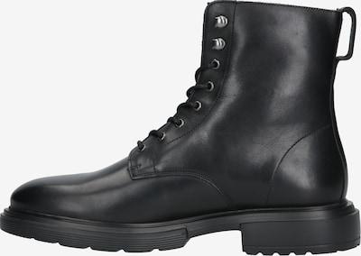 Garment Project Bottes à lacets 'Mili Lace Boot' en noir: Vue de profil