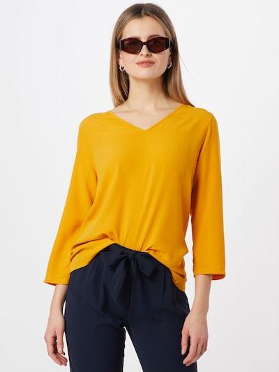 ABOUT YOU Chemisier 'Farine' en jaune, Vue avec modèle