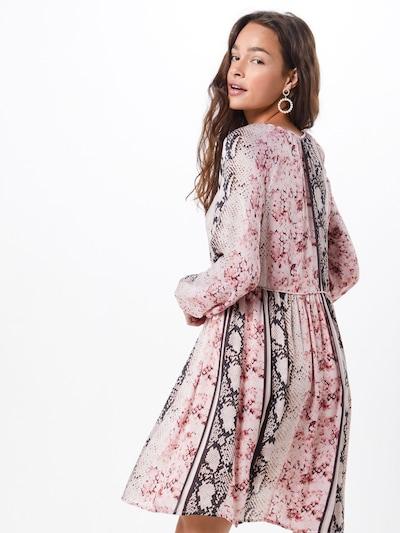 Frogbox Sukienka w kolorze mieszane kolory / różowy pudrowym: Widok od tyłu
