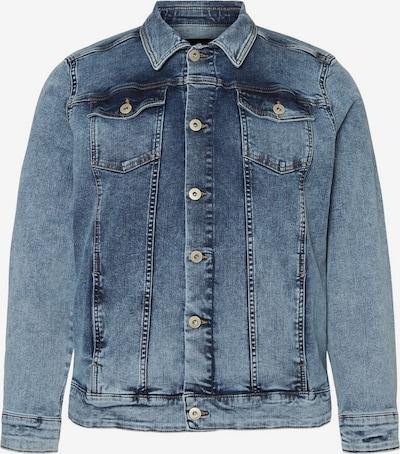 Junarose Kurze Jeans Jacke in blau, Produktansicht