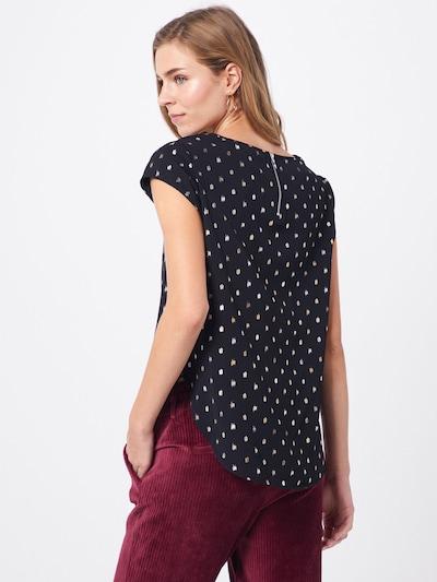 Bluză ONLY pe negru: Privire spate