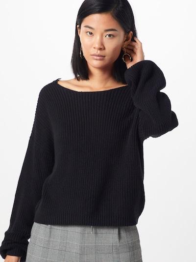 Pulover 'Xenia' ONLY pe negru: Privire frontală