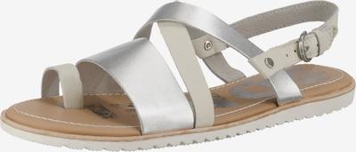 SOREL Sandale 'Ella Criss-Cross' in beige / silber, Produktansicht