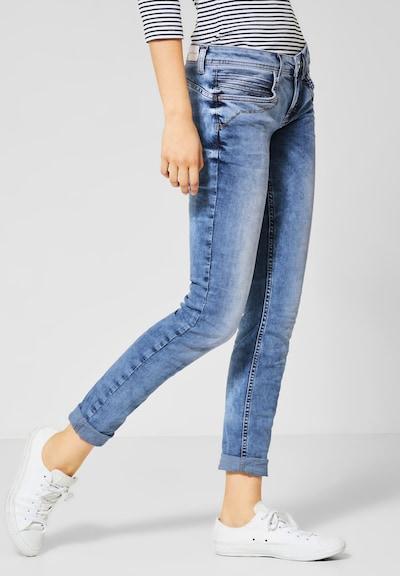 STREET ONE Jeans 'Crissi' in blau, Modelansicht