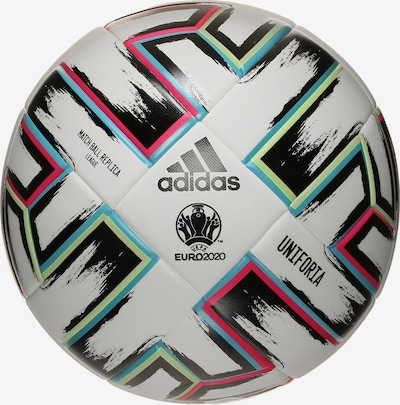 ADIDAS PERFORMANCE Trainingsball 'Uniforia League EM 2020' in aqua / cranberry / schwarz / weiß, Produktansicht