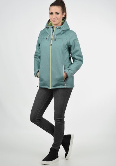 DESIRES Softshelljacke 'Soley' in jade / apfel, Produktansicht