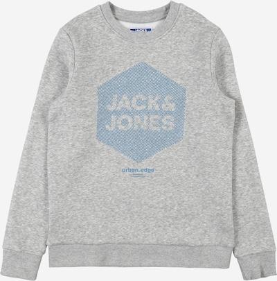 Jack & Jones Junior Sweater majica 'COLARSEN' u nebesko plava / siva melange, Pregled proizvoda