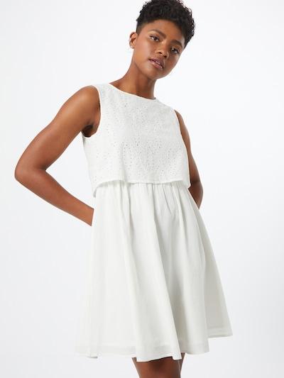 TOM TAILOR DENIM Kleid in weiß, Modelansicht