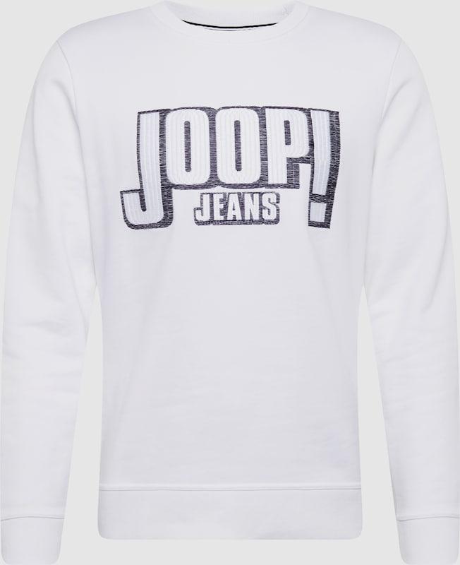 JOOP  Sweatshirt 'Augustin' in weiß  Neuer Aktionsrabatt
