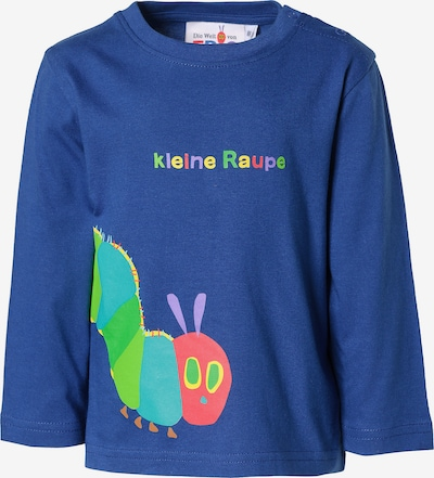 Raupe Nimmersatt Langarmshirt in blau, Produktansicht