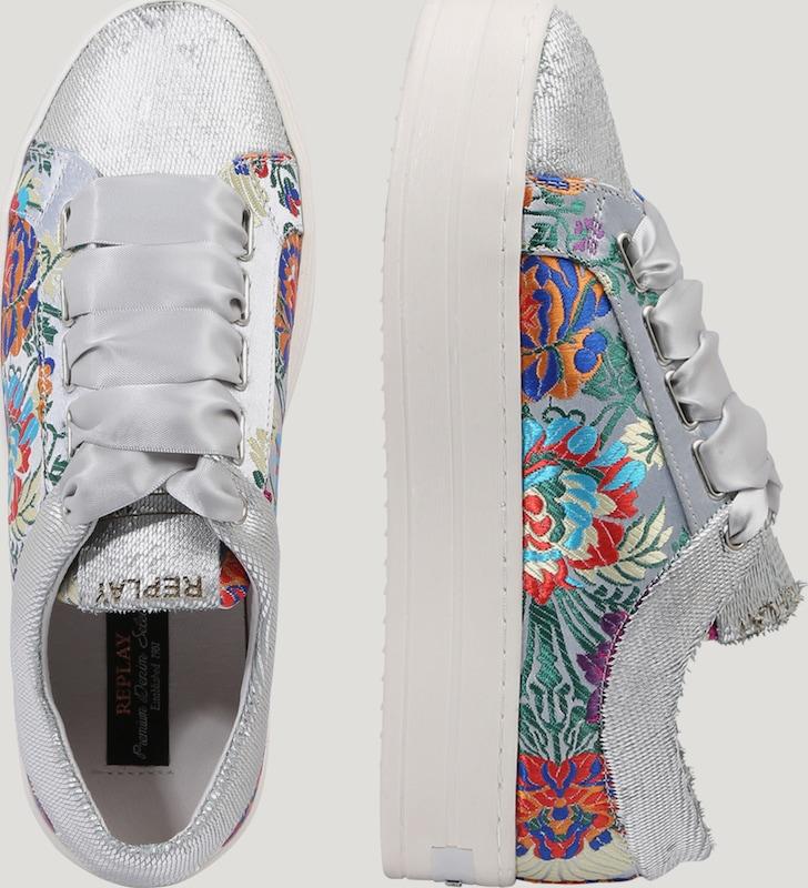 REPLBY   Preis-Leistungs-Verhältnis, Sneaker 'MUESLI' mit Stickerei--Gutes Preis-Leistungs-Verhältnis,   es lohnt sich,Sonderangebot-1954 846b4b
