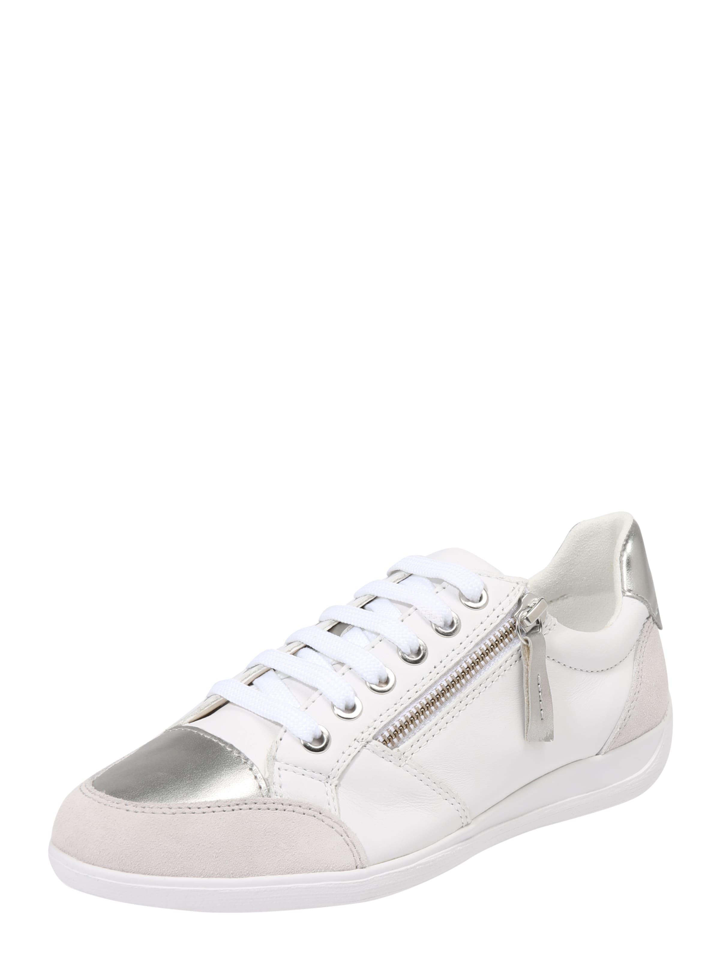 SilberWeiß Geox In 'd Sneaker Myria' rdCsQhxBt