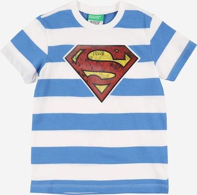 UNITED COLORS OF BENETTON Shirt in blau / weiß, Produktansicht