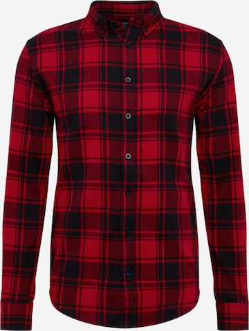 Denim Project Hemd 'Check Shirt' in Rot