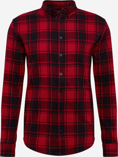 Denim Project Hemd 'Check Shirt' in rot, Produktansicht