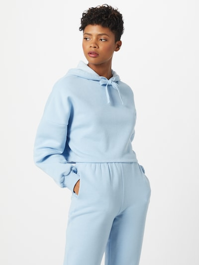 Gina Tricot Mikina - pastelová modrá: Pohled zepředu
