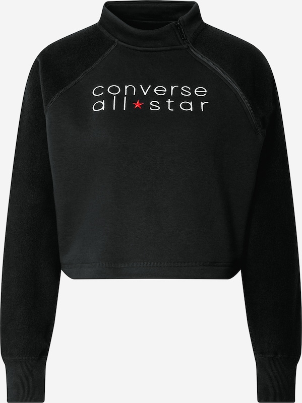 CONVERSE Sweatshirt 'All Star' in Schwarz | ABOUT YOU