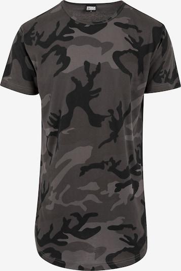 Urban Classics Shirt in dunkelgrau / mischfarben, Produktansicht