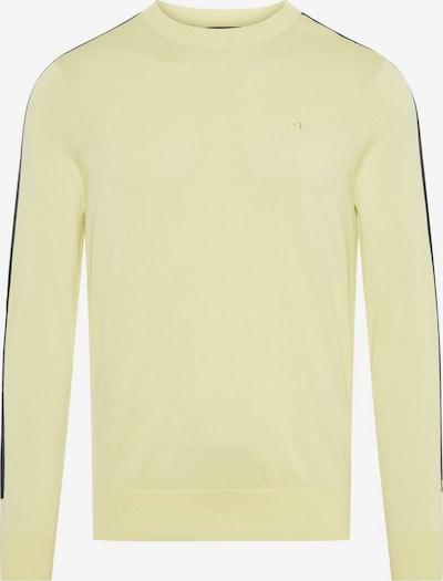 J.Lindeberg Kevin Crew Neck Knitted Pullover in beige / gelb, Produktansicht