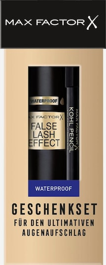 MAX FACTOR Make-up Set 'False Lash Effect Mascara Waterproof + gratis Kohl Kajal' in schwarz, Produktansicht