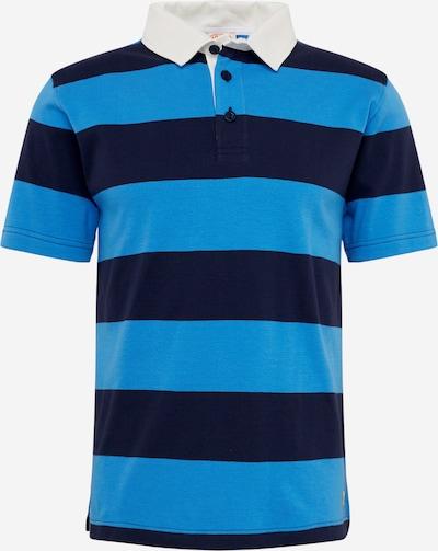 Armor Lux T-Shirt 'Rugby MC Héritage' en bleu ciel / bleu foncé, Vue avec produit