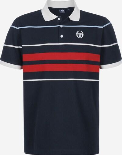 Sergio Tacchini Functioneel shirt in de kleur Navy / Rood / Wit, Productweergave