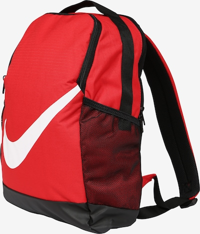 Nike Sportswear Rucksack in rot / schwarz / weiß: Seitenansicht