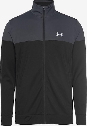 UNDER ARMOUR Athletic Jacket in Grey / Black, Item view