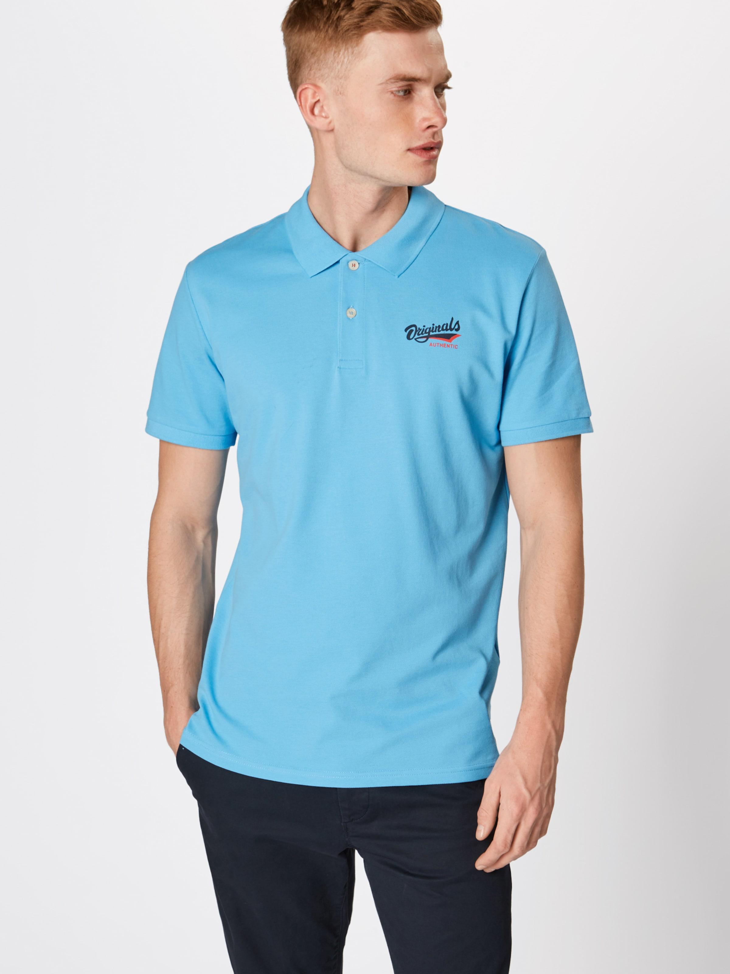 Jackamp; Shirt Polo Blau 'jorsummertime Jones Ss' In Ac3RjLq54