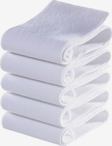 Chaussettes GO IN en blanc