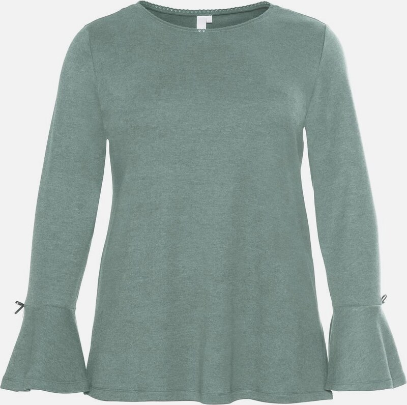 SHEEGO Shirt in mint: Frontalansicht