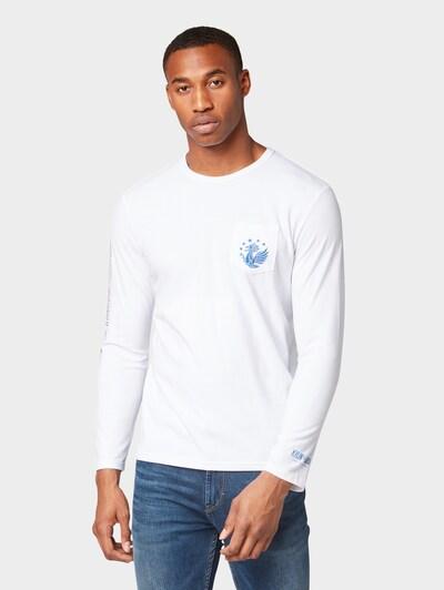 TOM TAILOR T-Shirt Kylin in weiß: Frontalansicht