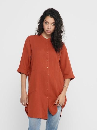 JACQUELINE de YONG Oversize Hemd in rot, Modelansicht