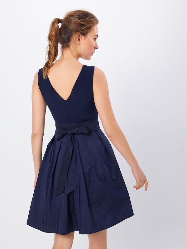 SWING Kleid Kleid Kleid  'Microtaf' in marine  Großer Rabatt dfb7f9
