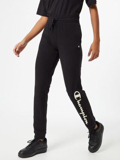 Champion Authentic Athletic Apparel Kalhoty - černá / bílá, Model/ka
