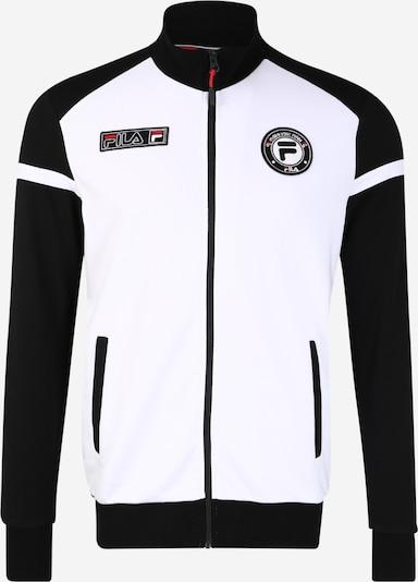 FILA Sportsweatvest in de kleur Zwart / Wit, Productweergave