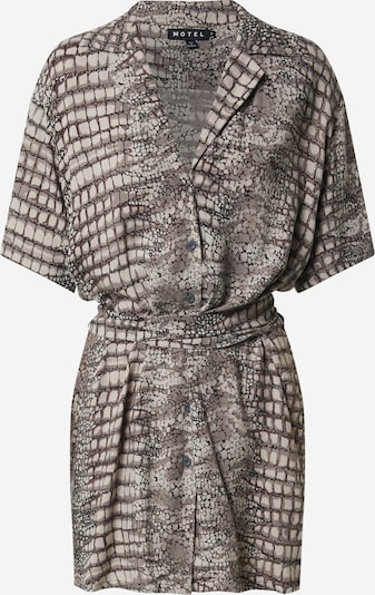 Motel Kleid 'SIARE' in grau / dunkelgrau, Produktansicht