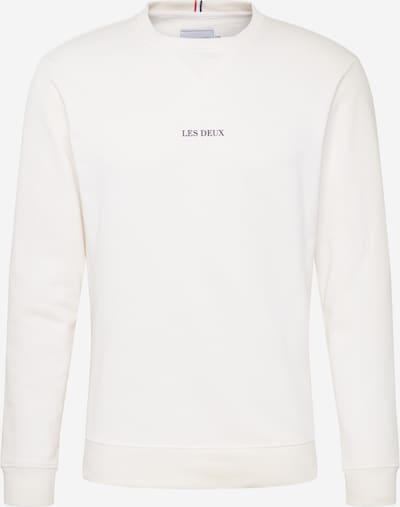 Les Deux Sweatshirt 'Lens' in schwarz / weiß, Produktansicht
